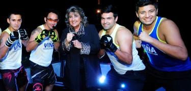 Alcaldesa Virginia Reginato, lanzamiento fitness 2016, 3