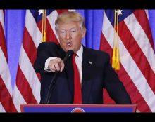 [Video] Trump pelea con un reportero de CNN durante conferencia