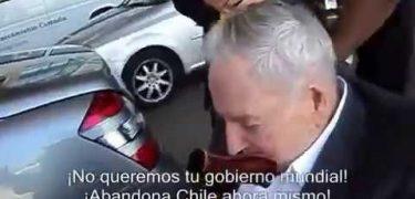 [Video] El día en que un chileno increpo a David Rockefeller